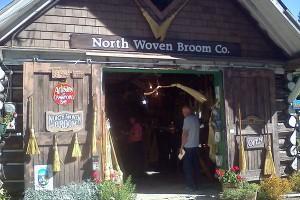 Broom Shop in Crawford Bay